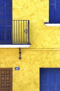 Holistic Photography: Yellow Blue Colour Psychology Therapy
