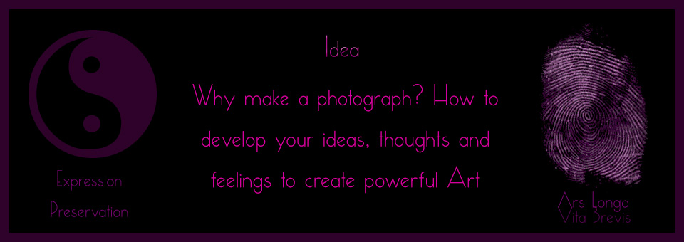 Holistic Photography : Idea